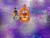 Subh Jagannath Rath Yatra Wallpaper,