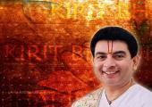 Kirit Bhai ji holi wallpaper, brown and yellow color